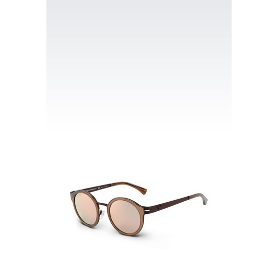 ARMANI SUNGLASSES IN ACETATE AND METAL Outlet Online