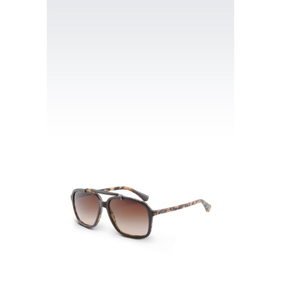 ARMANI ACETATE PILOT SUNGLASSES Outlet Online