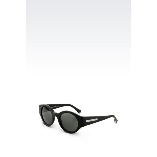 ARMANI SUNGLASSES IN ACETATE WITH ROUND LENSES Outlet Online