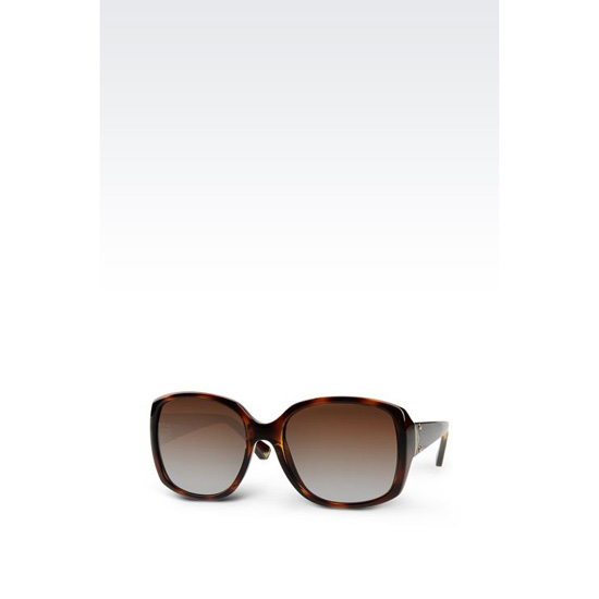 ARMANI ACETATE SUNGLASSES WITH SQUARE LENSES Outlet Online