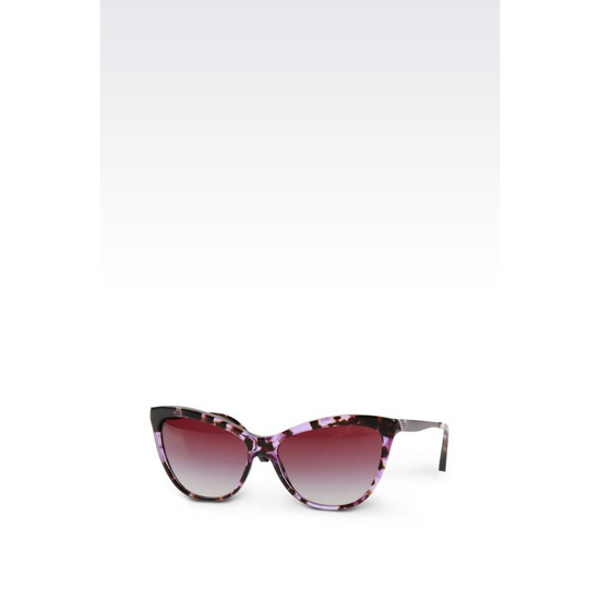 ARMANI CAT-EYE ACETATE SUNGLASSES Outlet Online