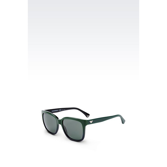 ARMANI SUNGLASSES IN ACETATE WITH SQUARE LENSES Outlet Online