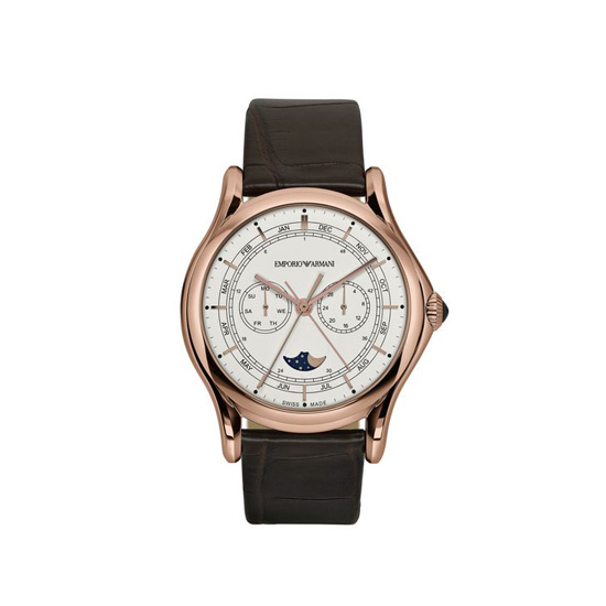 ARMANI SWISS MADE MOONPHASE WATCH Outlet Online