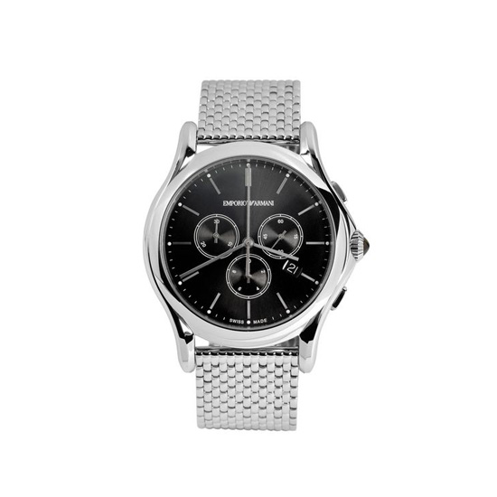 ARMANI SWISS MADE CRONOGRAPH WATCH Outlet Online