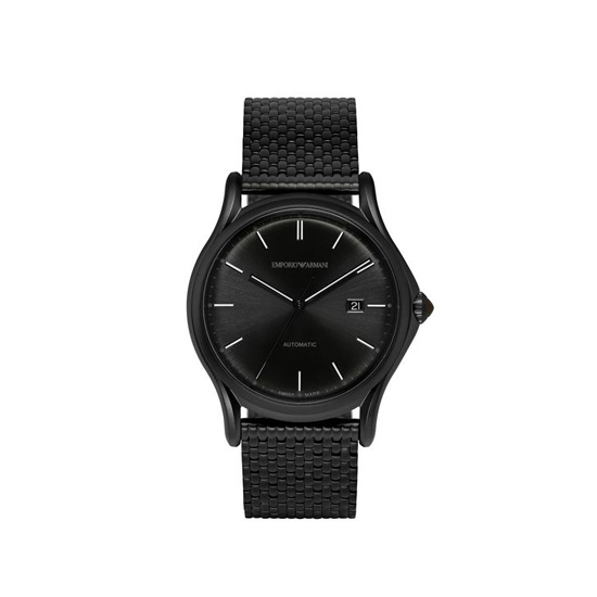 ARMANI SWISS MADE AUTOMATIC WATCH WITH STEEL STRAP Outlet Online