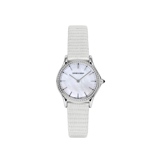 ARMANI SWISS MADE QUARTZ WATCH WITH LIZARD STRAP Outlet Online