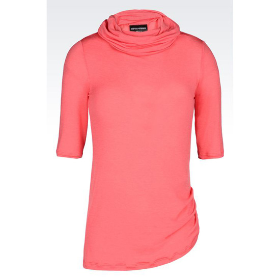 ARMANI SWEATER IN JERSEY MODAL Outlet Online