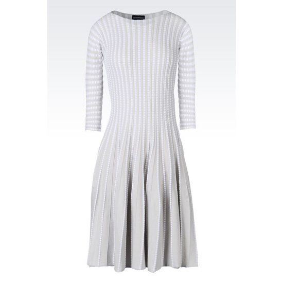 ARMANI PLISS脡 DRESS IN VISCOSE BLEND Outlet Online