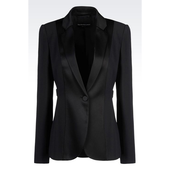 ARMANI TUXEDO JACKET IN CADY Outlet Online