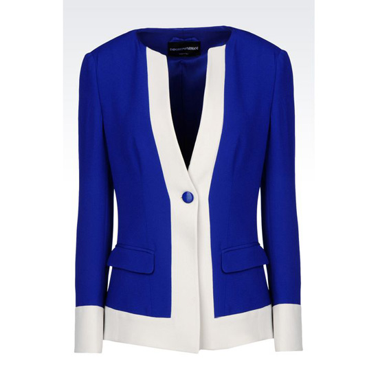 ARMANI RUNWAY CADY JACKET Outlet Online