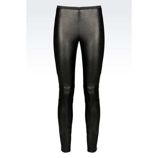 ARMANI TROUSERS IN NAPA LAMBSKIN Outlet Online