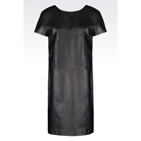 ARMANI DRESS IN NAPA LAMBSKIN Outlet Online