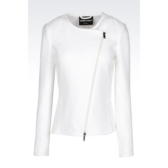 ARMANI WOVEN COTTON BLOUSON Outlet Online