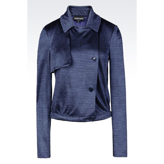 ARMANI RUNWAY BLOUSON IN VISCOSE Outlet Online