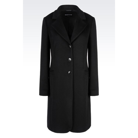ARMANI CLASSIC COAT IN CASHMERE Outlet Online