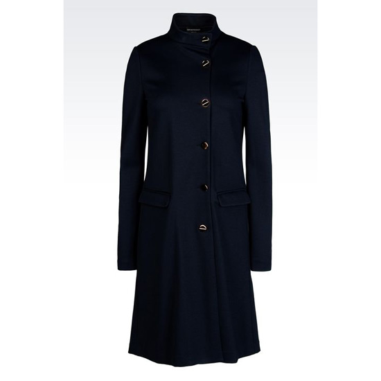 ARMANI COAT IN VISCOSE BLEND Outlet Online