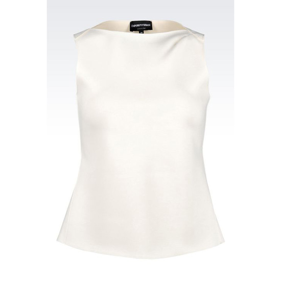 ARMANI TOP IN NEOPRENE Outlet Online