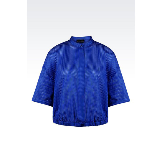 ARMANI SHIRT IN MICRO-CHECK SILK AND COTTON Outlet Online