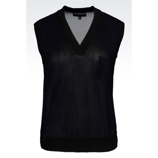 ARMANI TOP IN VISCOSE BLEND Outlet Online