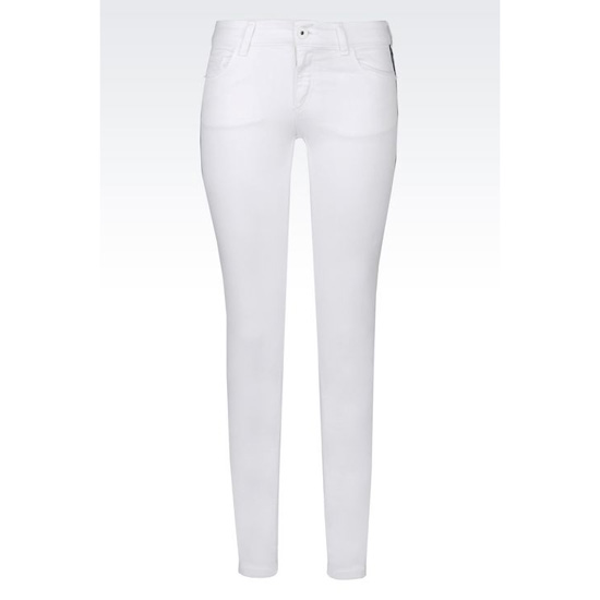 ARMANI SUPER SKINNY JEANS IN STRETCH BULL Outlet Online