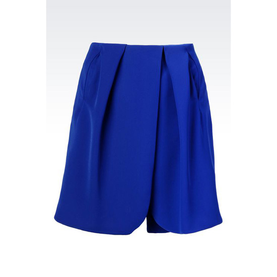 ARMANI RUNWAY BERMUDA SHORTS IN TWILL Outlet Online