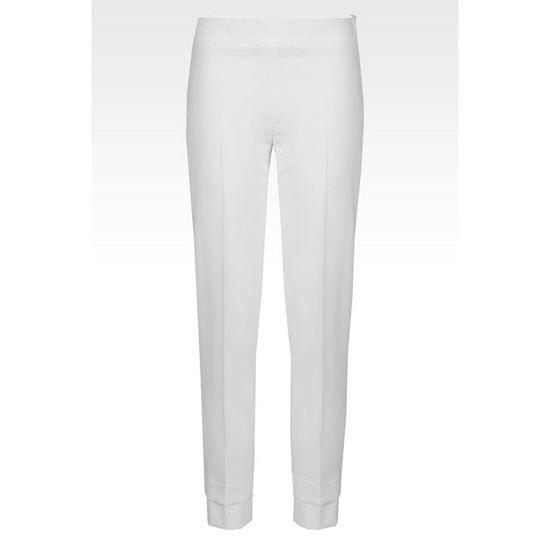 ARMANI TROUSERS IN STRETCH MICRO FANCY WEAVE Outlet Online