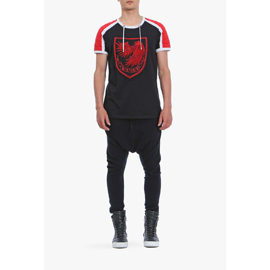 BALMAIN MEN COTTON HAREM PANTS Outlet Online