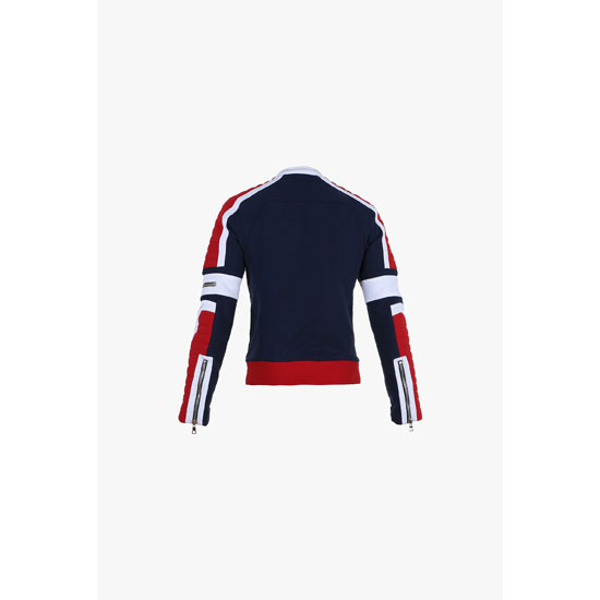 BALMAIN MEN COTTON BIKER SWEATSHIRT Outlet Online