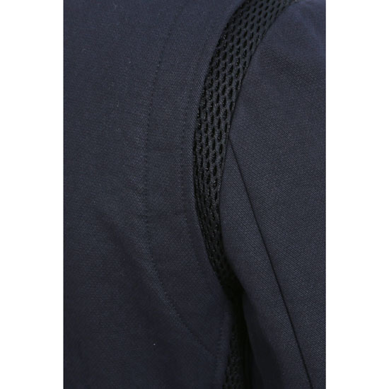 BALMAIN MEN DOUBLE-BREASTED COTTON PEACOAT Outlet Online