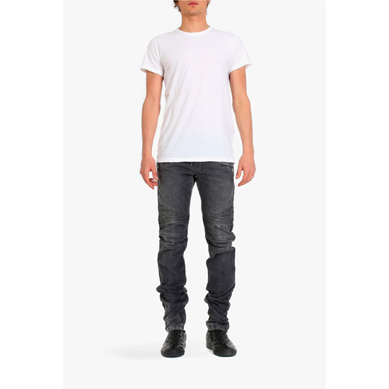 BALMAIN MEN THREE-PACK COTTON T-SHIRTS Outlet Online
