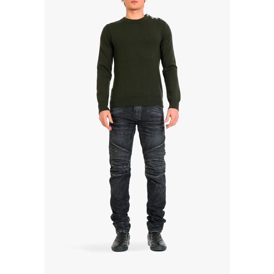 BALMAIN MEN WOOL SWEATER Outlet Online