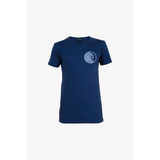 BALMAIN MEN THREE-PACK COTTON SHORT-SLEEVED T-SHIRT WITH BADGE Outlet Online