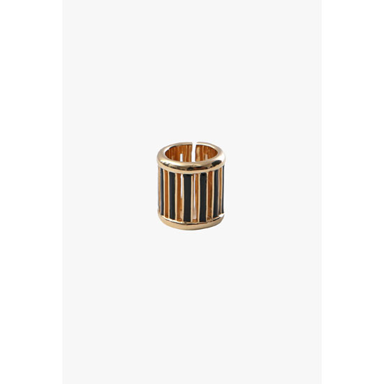 BALMAIN WOMEN GOLD-TONE HORN RING Outlet Online