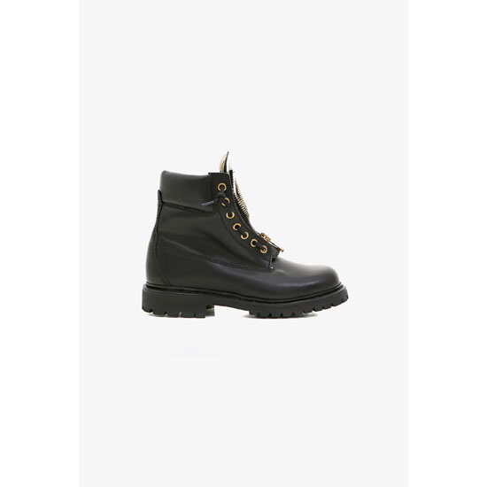 BALMAIN WOMEN RANGER LEATHER BOOTS Outlet Online