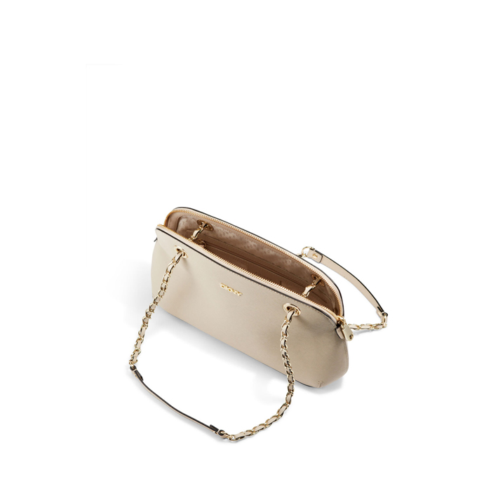 SAND DKNY SAFFIANO LEATHER ROUND CROSSBODY Outlet Online