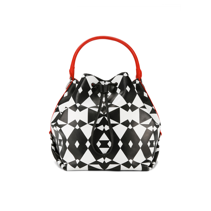 MULTI DKNY GEO PRINT BUCKET BAG Outlet Online