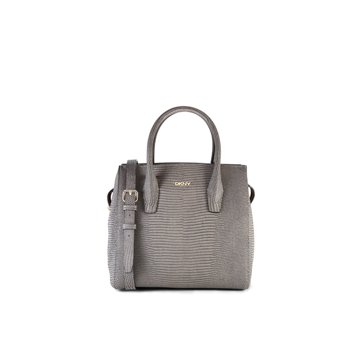 CEMENT DKNY LIZARD-PRINTED TOP HANDLE SATCHEL Outlet Online