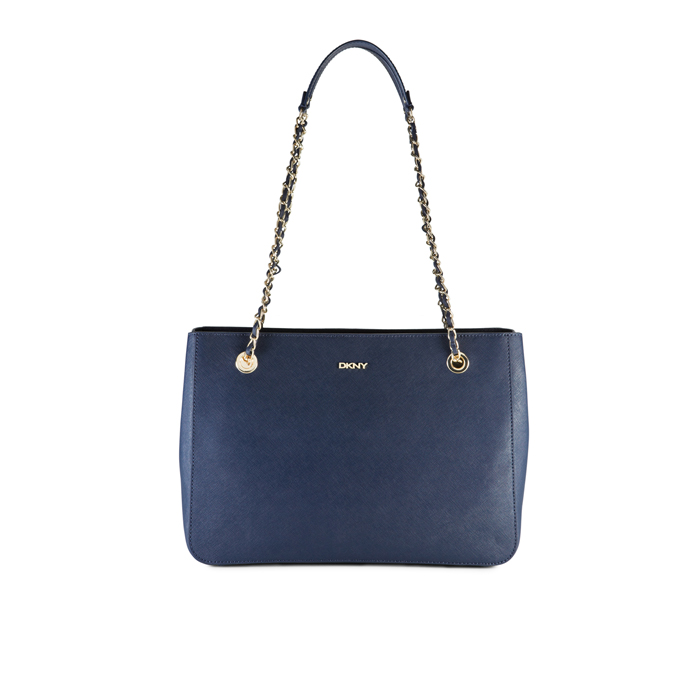 INK DKNY SAFFIANO LEATHER CHAIN SHOPPER Outlet Online