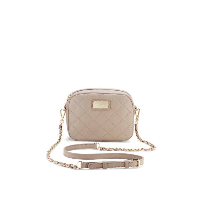 CEMENT DKNY QUILTED LEATHER CHAIN CAMERA BAG Outlet Online