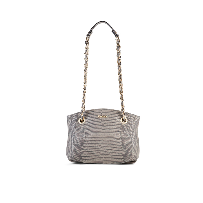 CEMENT DKNY LIZARD-PRINTED CHAIN CROSSBODY Outlet Online