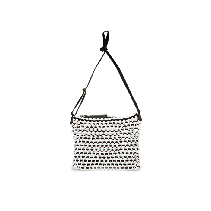 WHITE DKNY BOTTLETOP CROSSOVER BAG Outlet Online