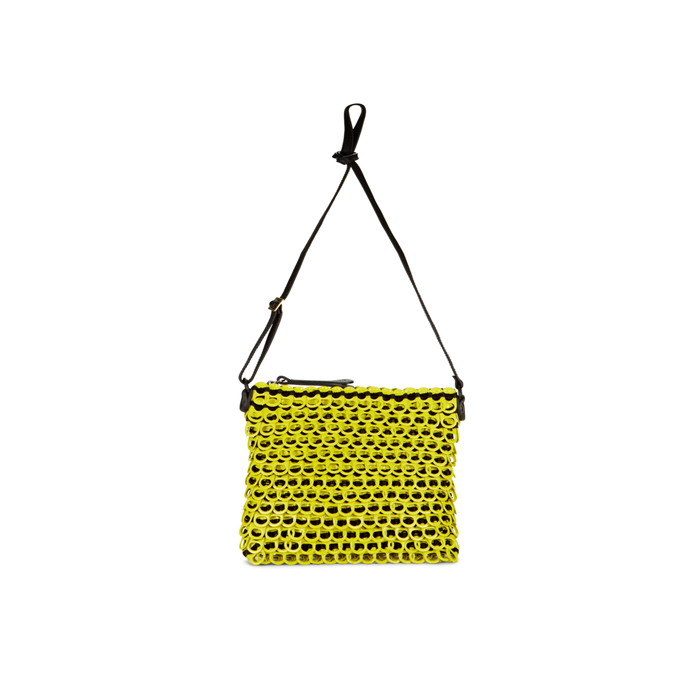 LUX YELLOW DKNY BOTTLETOP CROSSOVER BAG Outlet Online