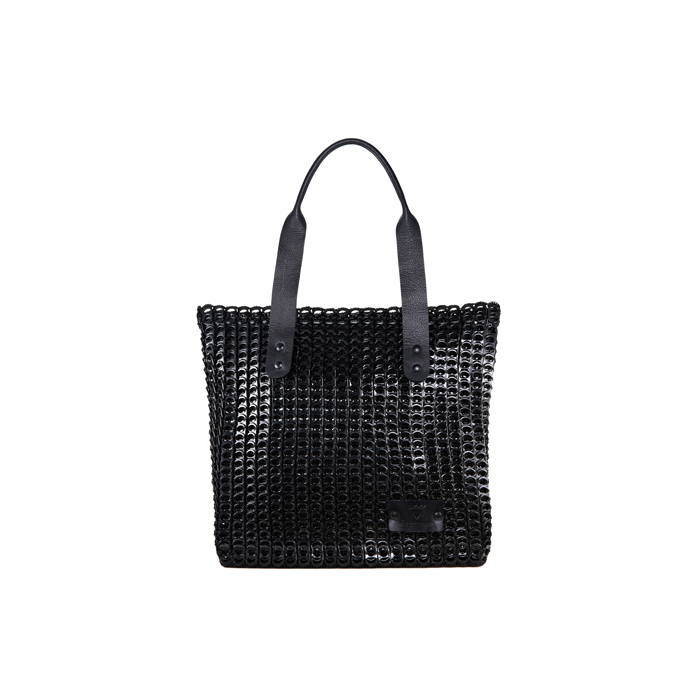 BLACK DKNY BOTTLETOP TOTE BAG Outlet Online