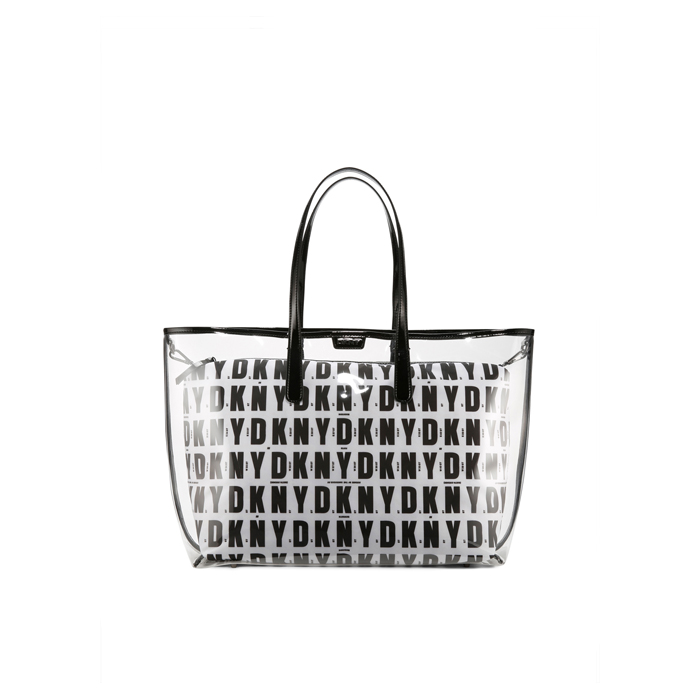 BLACK HQ DKNY CLEAR EAST/WEST SHOPPER Outlet Online