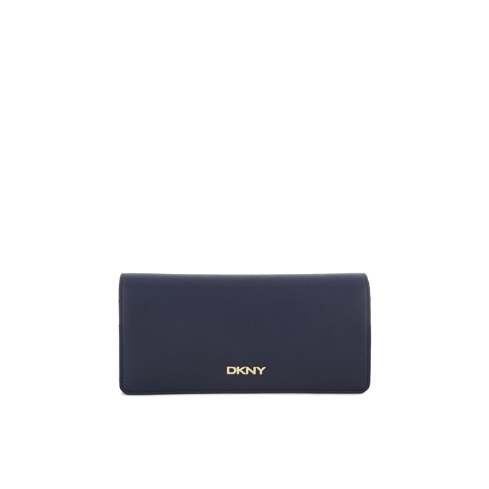 INK DKNY SAFFIANO LEATHER LARGE CARRYALL WALLET Outlet Online