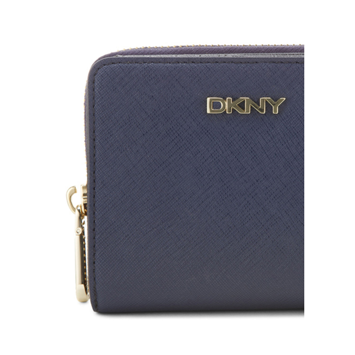INK DKNY SAFFIANO LEATHER SMALL CARRYALL WALLET Outlet Online