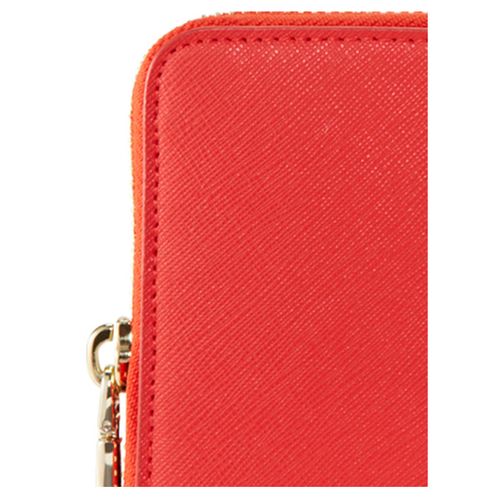 CORAL DKNY SAFFIANO LEATHER LARGE WALLET Outlet Online