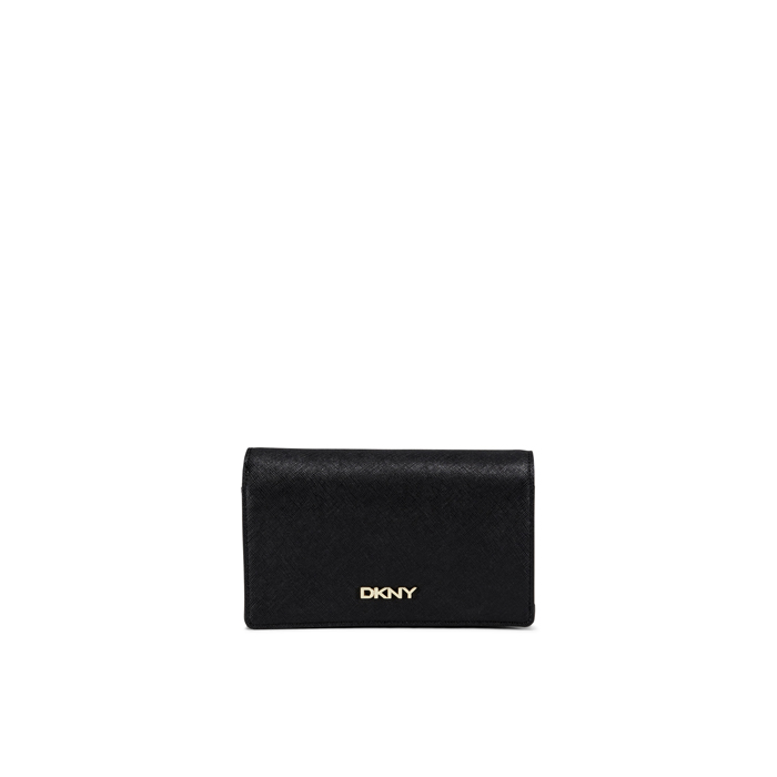 BLACK DKNY SAFFIANO LEATHER MEDIUM CARRYALL Outlet Online