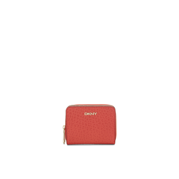 CORAL DKNY FRENCH GRAIN LEATHER SMALL CARRYALL Outlet Online