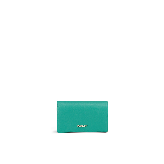 GREEN DKNY SAFFIANO LEATHER MEDIUM CARRYALL Outlet Online